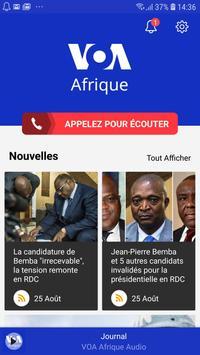 VOA Afrique скриншот 1