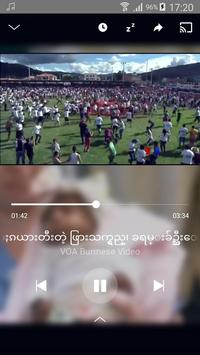 VOA Burmese syot layar 4
