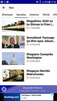 VOA Somali скриншот 4