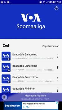 VOA Somali स्क्रीनशॉट 1
