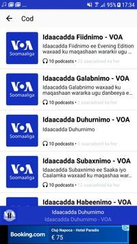 VOA Somali скриншот 2