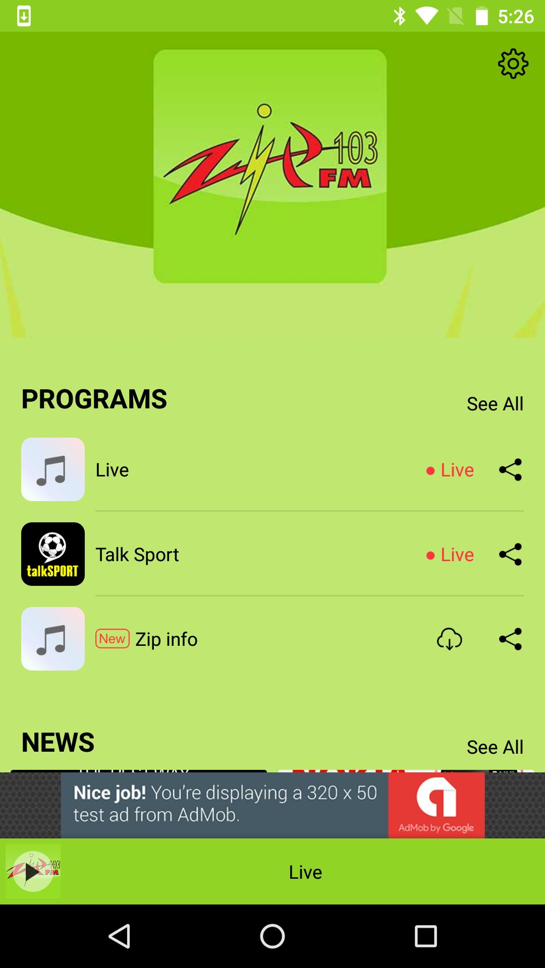 Zip FM 103 Jamaica for Android - APK Download