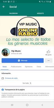 Radio Vip Music screenshot 3