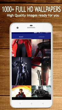 4K Superheroes Wallpapers - HD Background Changer screenshot 5