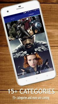 4K Superheroes Wallpapers - HD Background Changer screenshot 9