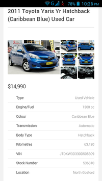 Used Cars Australia screenshot 3