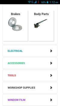 Auto Parts Australia screenshot 1