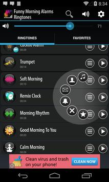 Funny Morning Alarm Ringtones screenshot 2