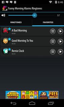 Funny Morning Alarm Ringtones screenshot 3