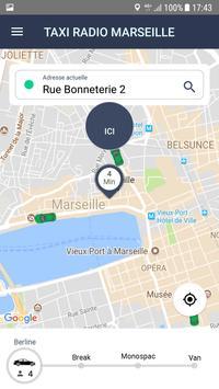 Taxi Radio Marseille screenshot 2
