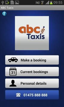 ABC Taxis. poster