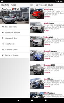 Fiat Auto France - Fiat occasion Neuilly sur Marne screenshot 16