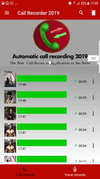Automatic call recorder 2019 poster