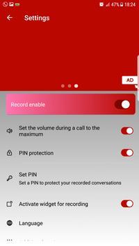 Automatic call recorder 2019 screenshot 5