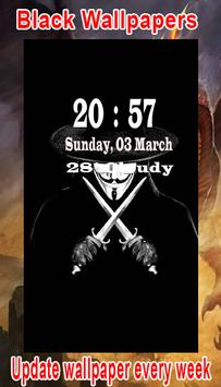 Black Wallpaper HD screenshot 4