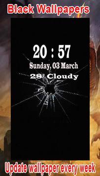 Black Wallpaper HD screenshot 1