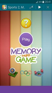 Sports 2, Memory Game (Pairs) screenshot 16