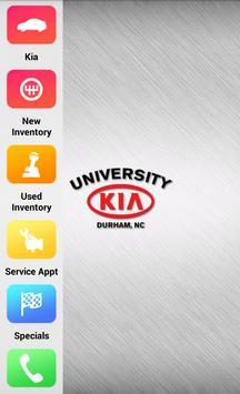 University Kia poster