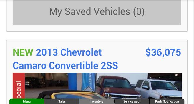 Diver Chevrolet screenshot 7