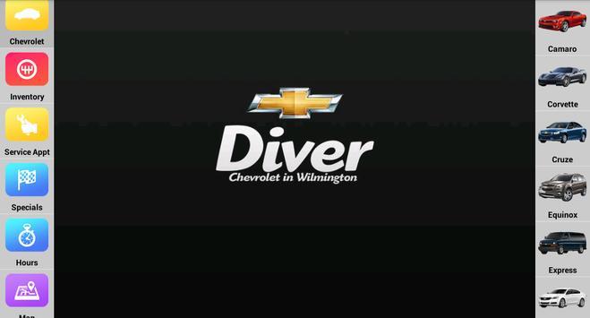 Diver Chevrolet screenshot 5