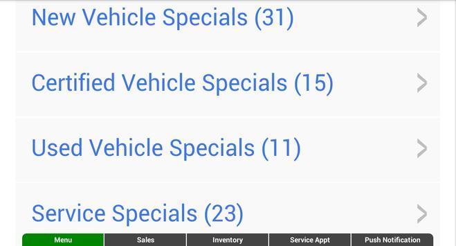 Diver Chevrolet screenshot 9