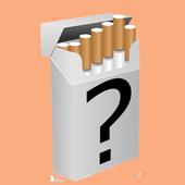 Cigaretta erősség icon