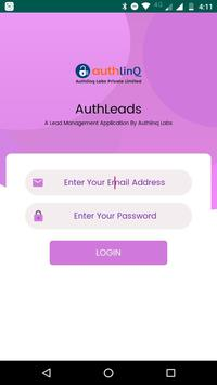 Auth Leads screenshot 1