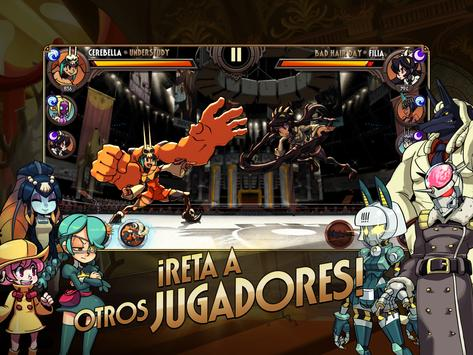 Skullgirls captura de pantalla 13