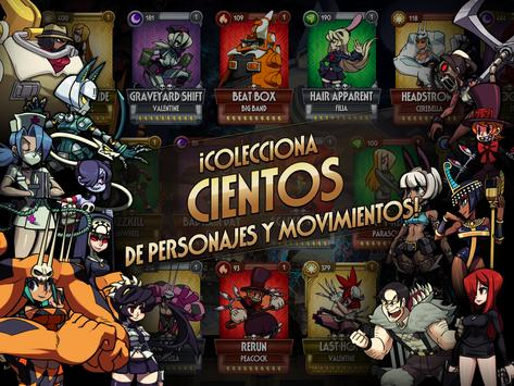 Skullgirls captura de pantalla 14