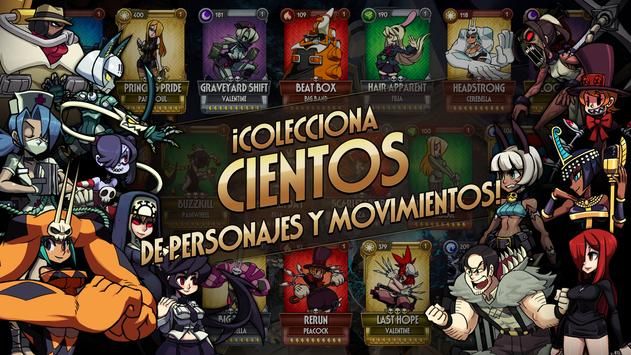 Skullgirls captura de pantalla 2