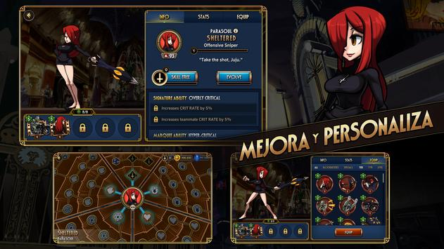 Skullgirls captura de pantalla 3