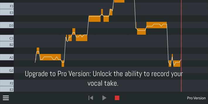 Nail the Pitch - Vocal Pitch Monitor capture d'écran 1