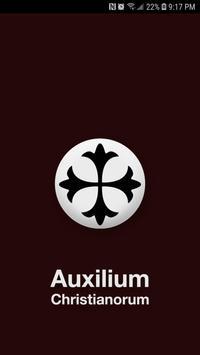 Auxilium Christianorum poster
