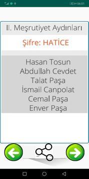 Kpss Tarih Şifreleri  2020 screenshot 1
