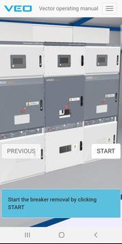 VEO Vector Operating Manual screenshot 1