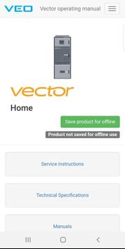 VEO Vector Operating Manual screenshot 2