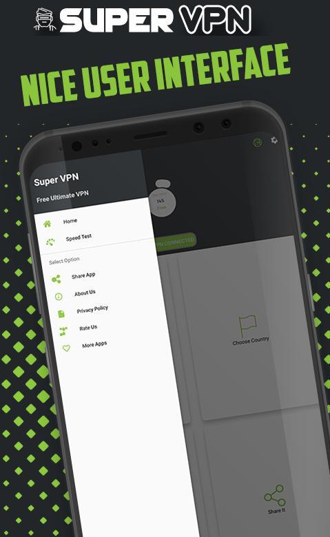 Super VPN - Free VPN Proxy & Speed Test cho Android - Tải về APK