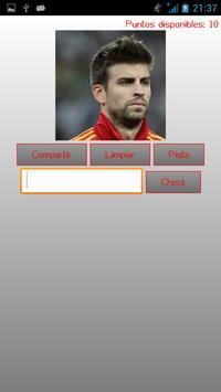 Futbol Quiz Jugadores screenshot 3