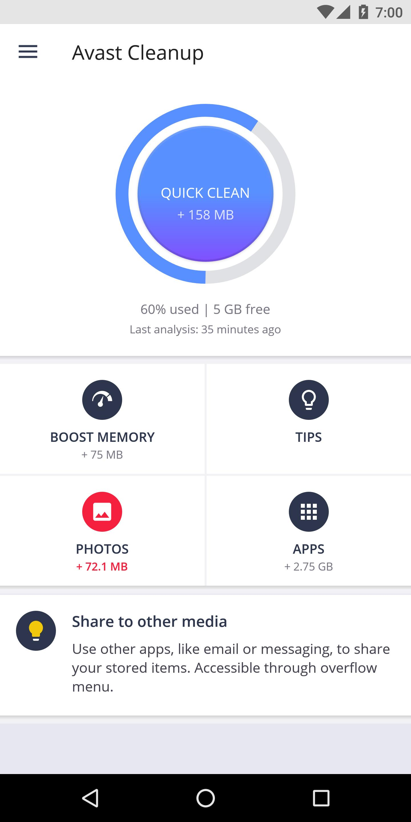 Avast Cleanup for Android - APK Download