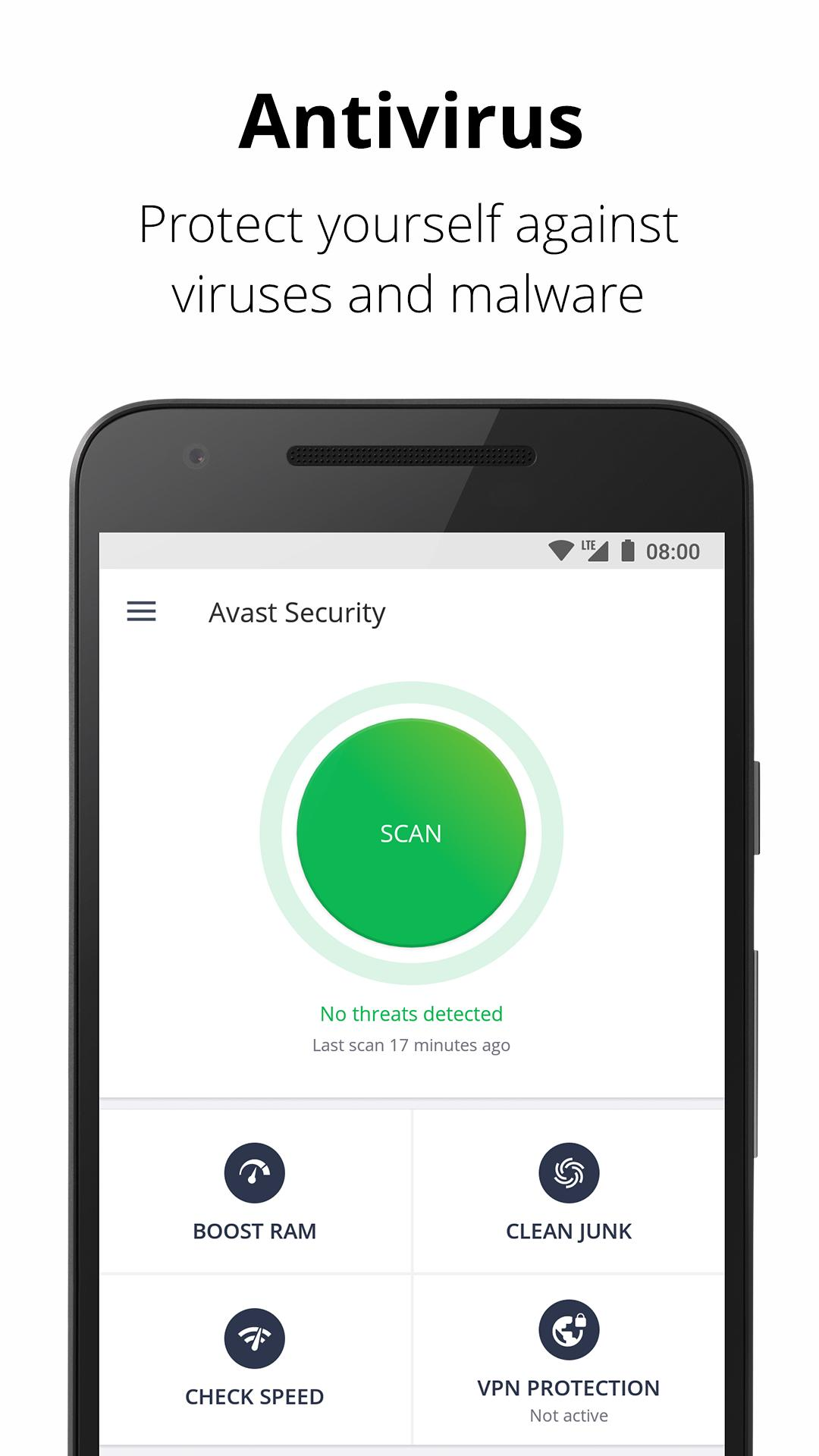 Avast Antivirus - Scan & Remove Virus, Cleaner for Android