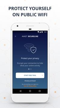 VPN Proxy by Avast SecureLine - Anonymous Security screenshot 4