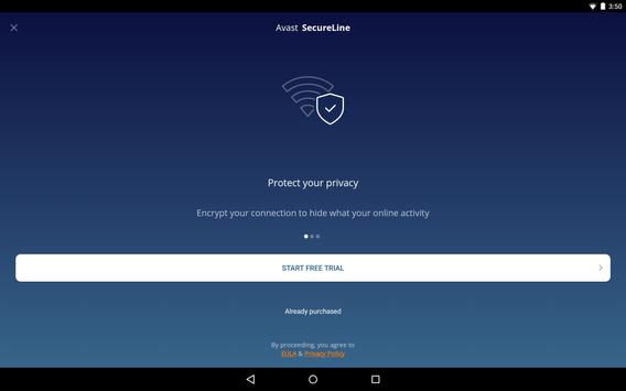 VPN Proxy by Avast SecureLine - Anonymous Security screenshot 7