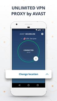 VPN Proxy by Avast SecureLine - Anonymous Security poster