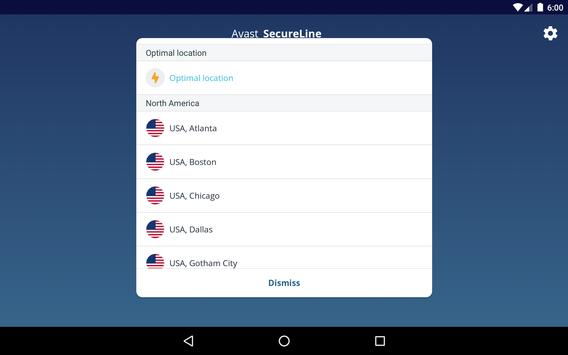 VPN Proxy by Avast SecureLine - Anonymous Security screenshot 14