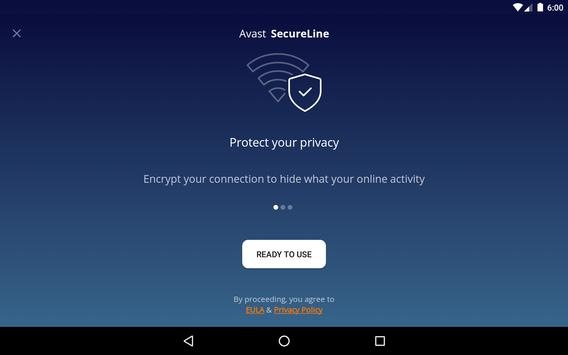 VPN Proxy by Avast SecureLine - Anonymous Security screenshot 15