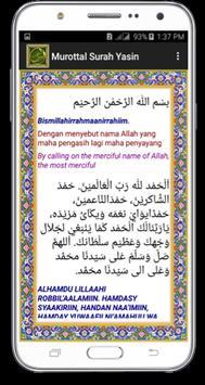 Surah Yasin-Tahlil-Doa-Juz'Amma dan Terjemahan screenshot 4