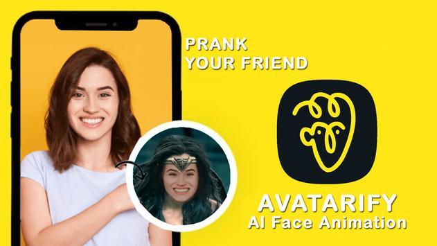 Avatarify : AI Face Animator wombo Clue 2021 poster