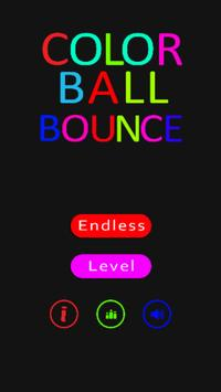 Color Ball Bounce poster