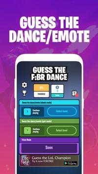Guess the Fortnite Battle Royale Dance screenshot 1