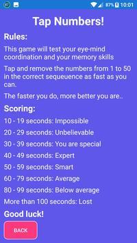 Number Games: Tap Numbers screenshot 4